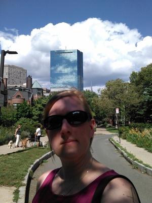 Selfie on the SW Corridor Path (August 2015)